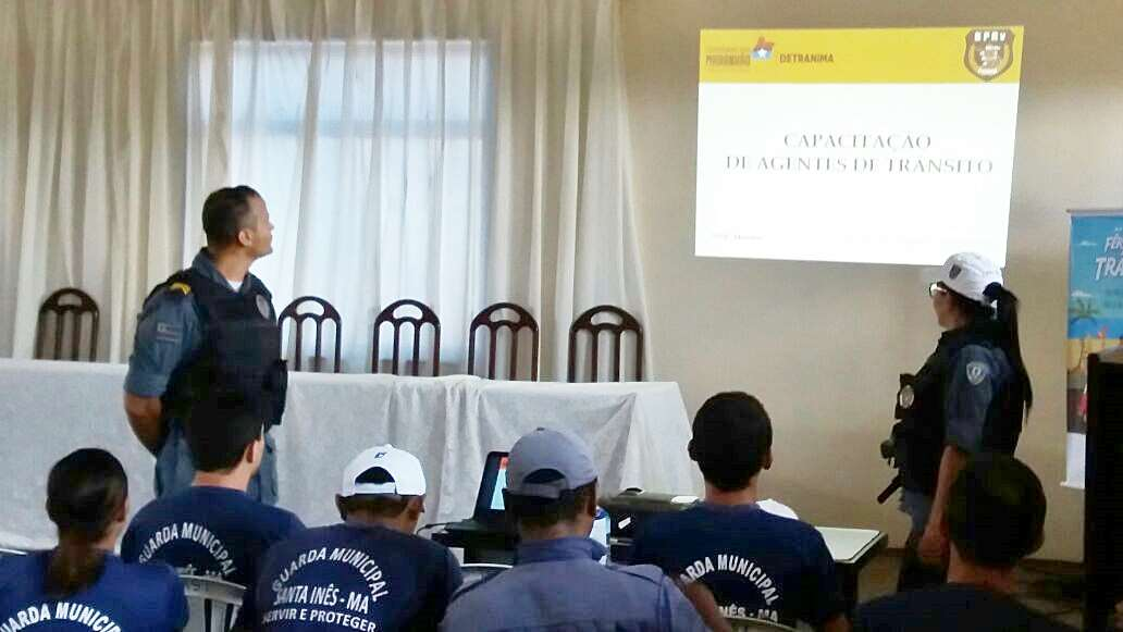 Detran-MA e BPRV promovem capacitação de agentes de trânsito de Santa Inês