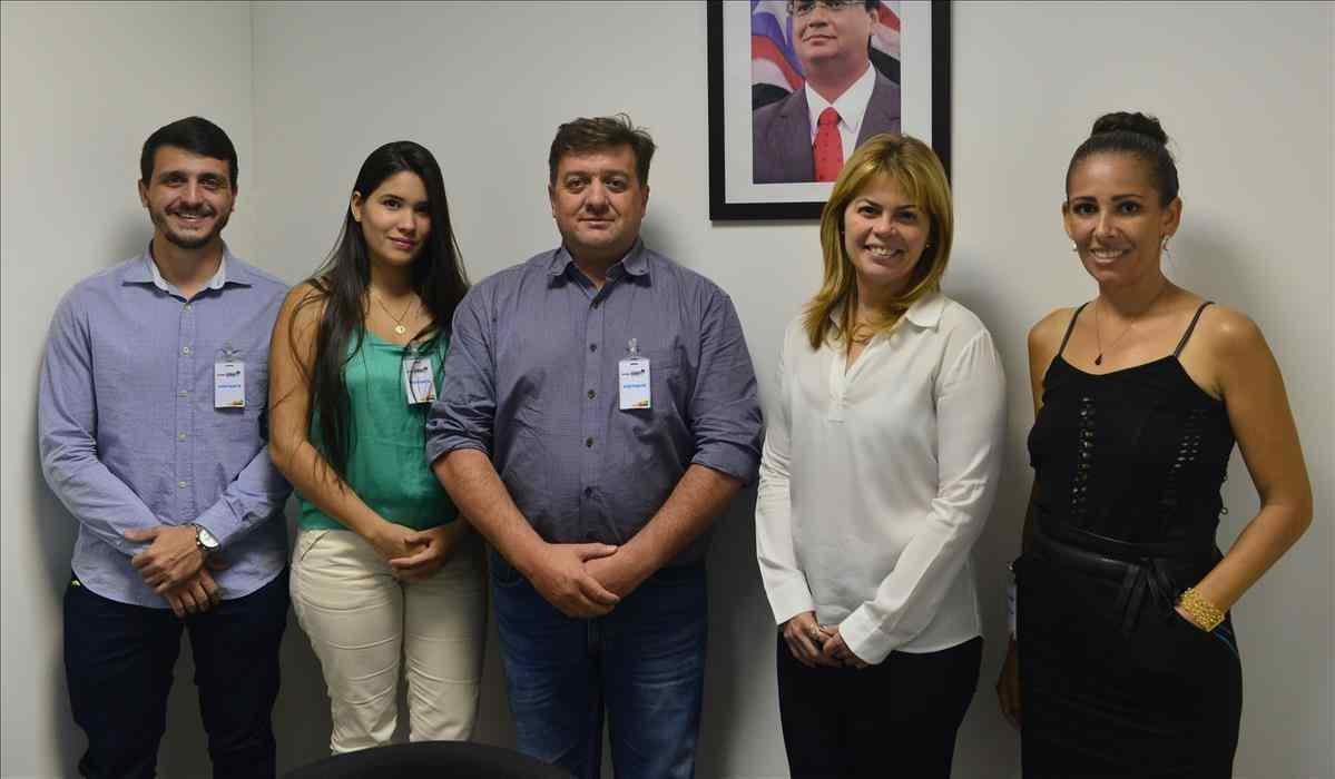 Detran-MA Recebe Visita de Organizadores do AGROBALSAS 2018