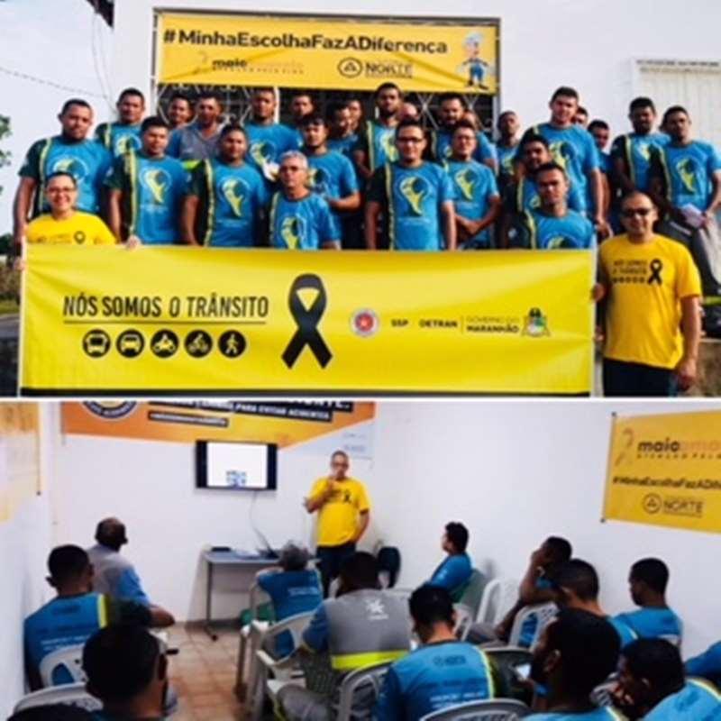 Maio Amarelo: Palestra Educativa com Funcionários da CEMAR