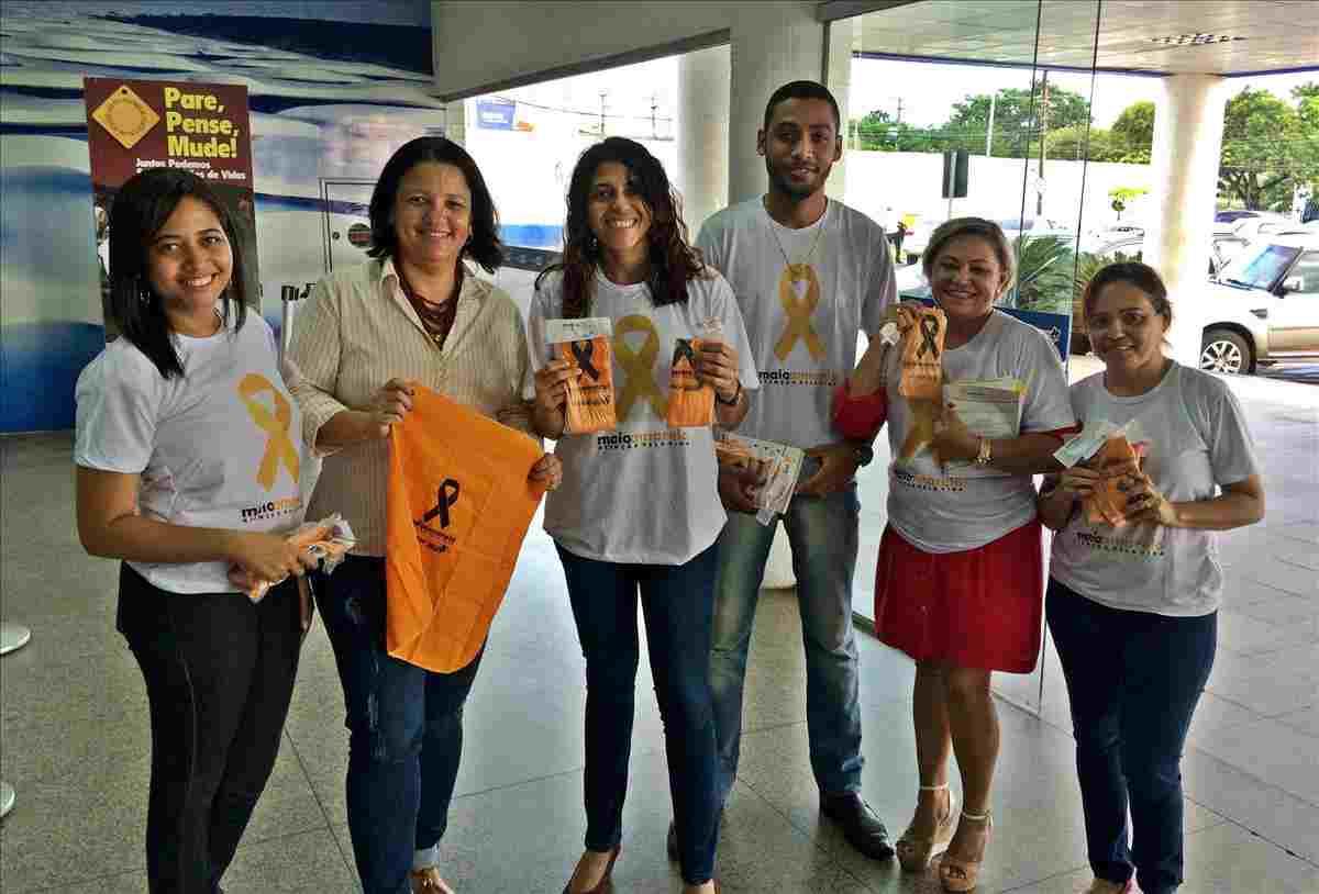 Ações do 'Maio Amarelo' orientam sobre a educação no trânsito