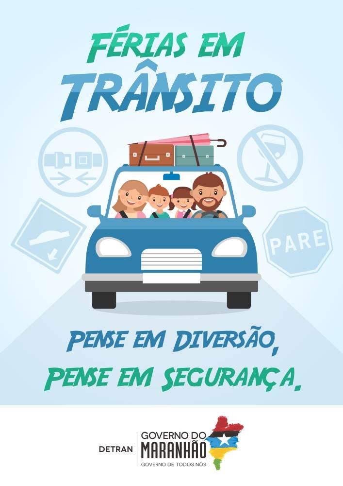 Governo intensifica ações educativas de prevenção de acidentes de trânsito nas férias