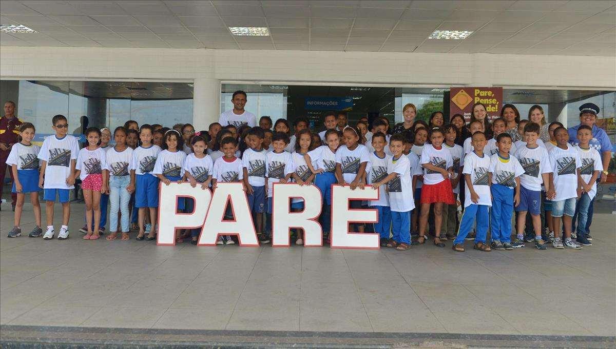 Alunos de escolas públicas de São Luís participam de ações educativas na Semana Nacional do Trânsito 2016