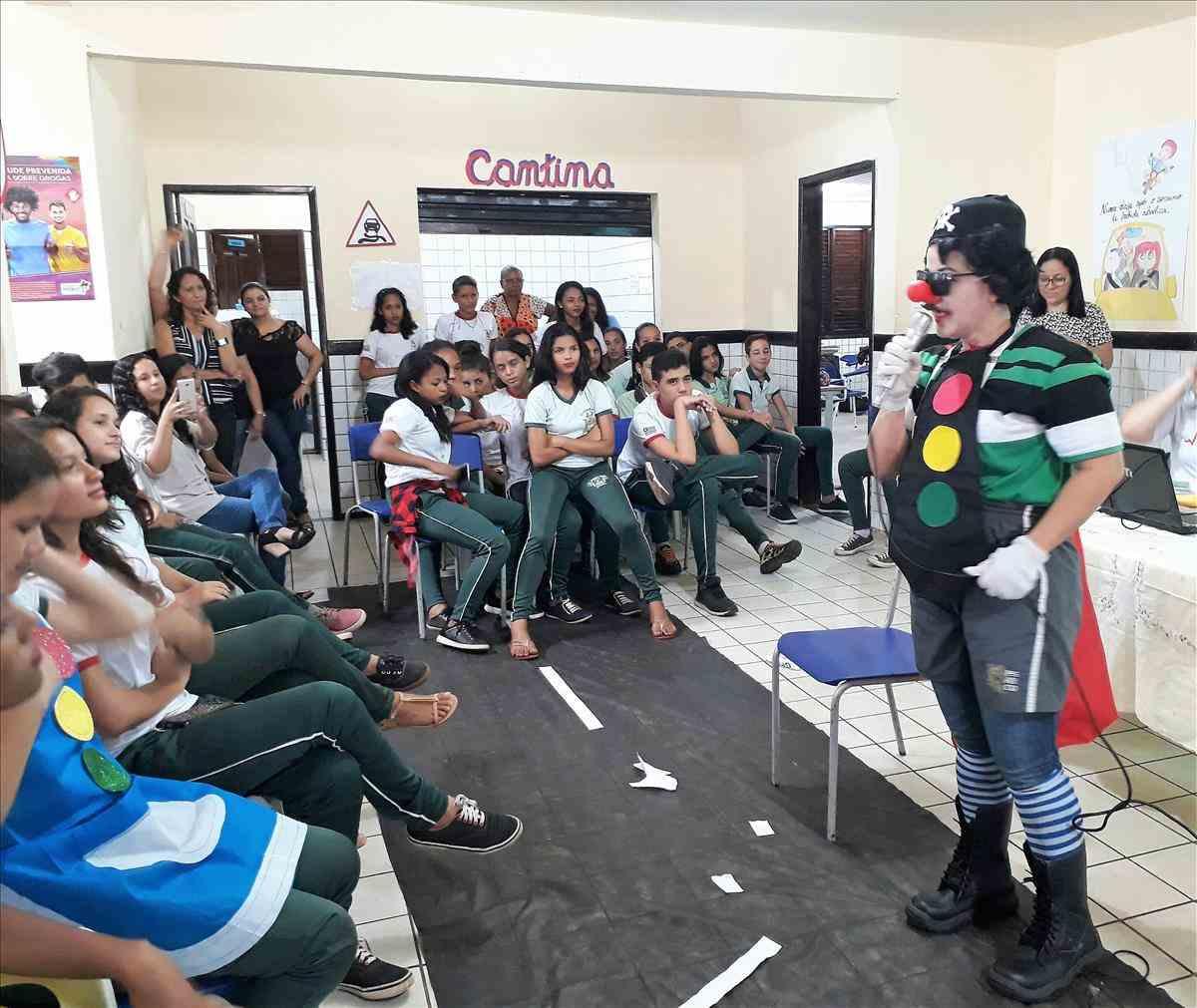 """SNT 2017: Alunos da Raposa recebem projeto """"Detran-MA vai à Escola"""""""