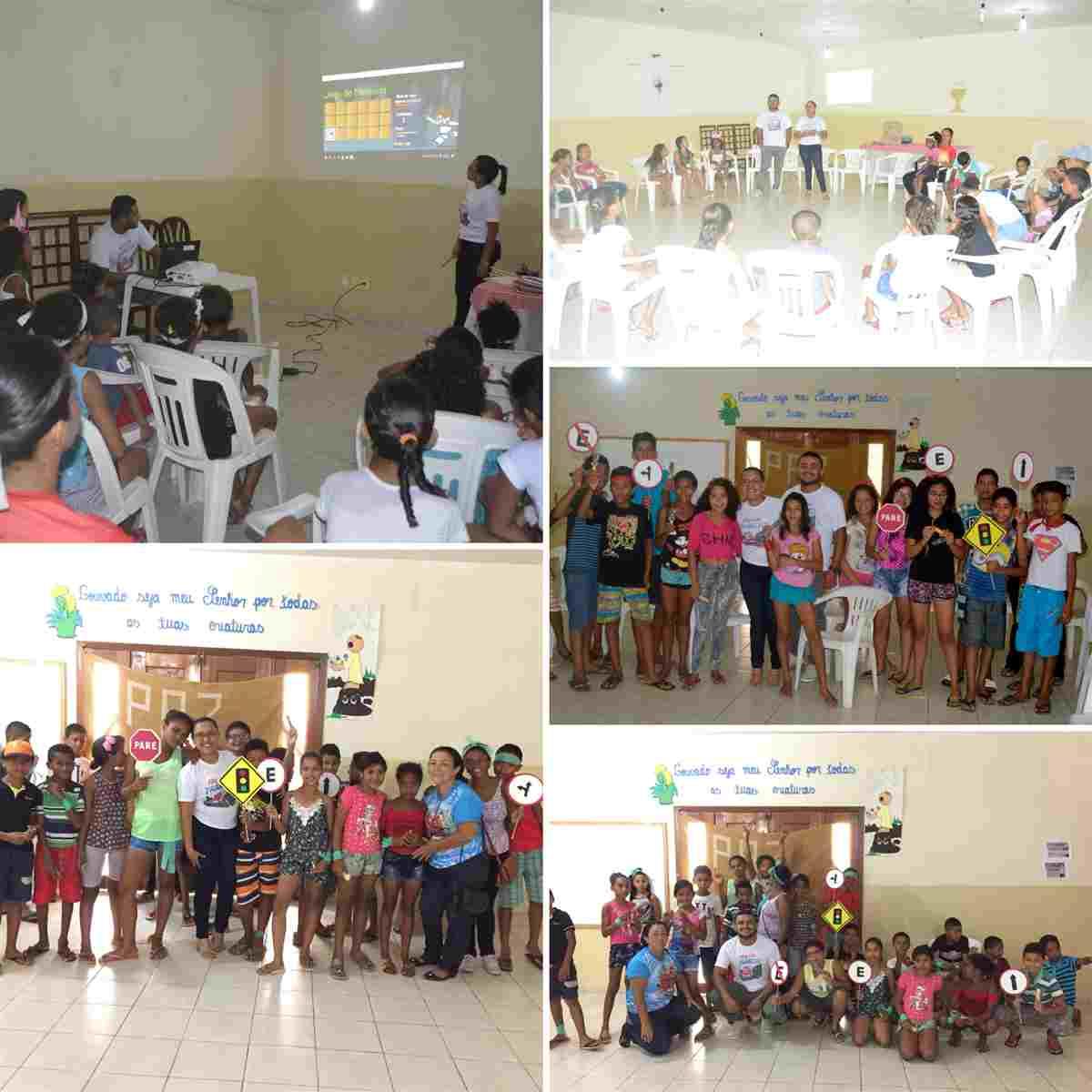Férias em Trânsito: Ação Educativa no Centro Educacional São Francisco em Caxias