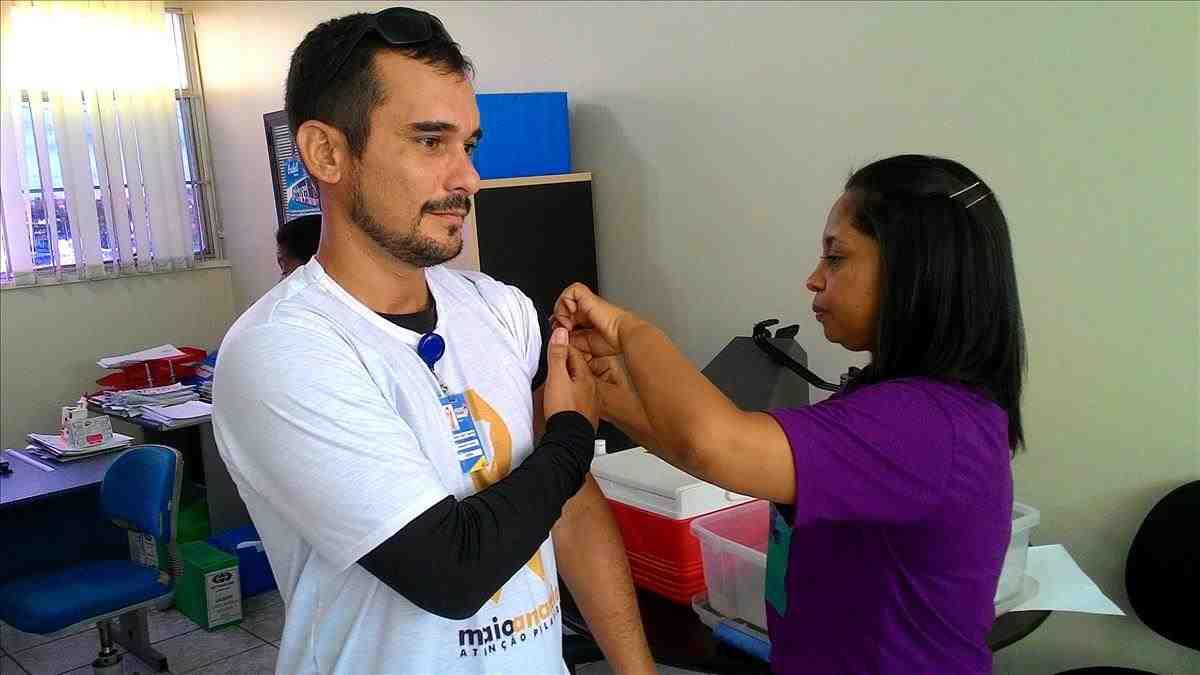 Servidores do Detran participam do Dia da Vacina contra a gripe