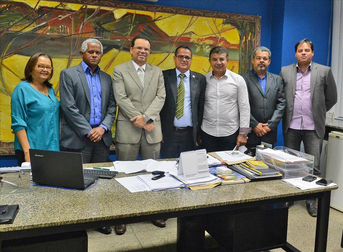 Diretor Geral do Detran-MA recebe visita de representantes do Sindicato das Autoescolas de Alagoas e Paraíba